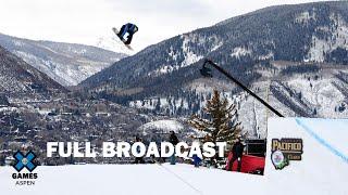 Jeep Men's Snowboard Slopestyle: FULL BROADCAST | X Games Aspen 2020