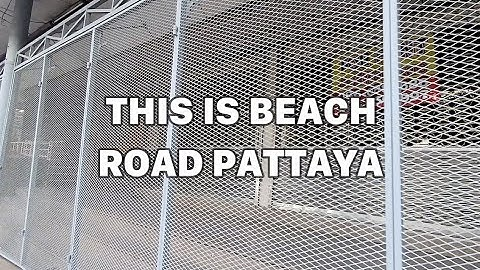 Jomtien is lively Pattaya is still Quite