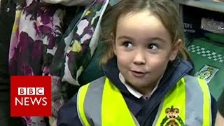 This 4 year old called 999 & saved her mum's life   BBC News