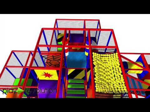 New Indoor Soft Play Installation for Holyhead Town Council by Play Revolution Ltd