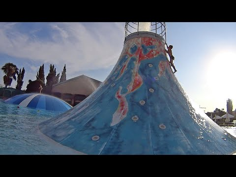 Aphrodite Waterpark in Cyprus (Silly House Music Clip!)