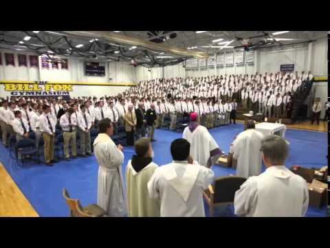 2014 Christmas Greeting from De La Salle Collegiate High School
