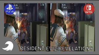RESIDENT EVIL REVELATIONS | SWITCH VS PS4 | COMPARACIÓN GRAFICA | TOCBY