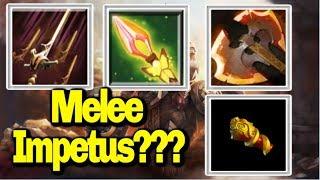 Impetus with Melee Hero!!! || Ability Draft || Dota 2