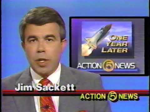 Space Shuttle Challenger Accident One Year Later 1987
