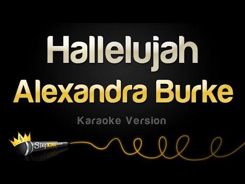 Alexandra Burke - Hallelujah Karaoke