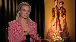 margot robbie wired autocomplete interview
