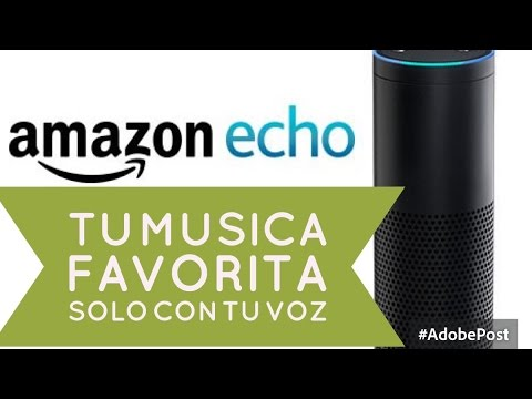 Como escuchar musica con amazon echo - pidela con tu voz  - facil - latino wifi bluetooth