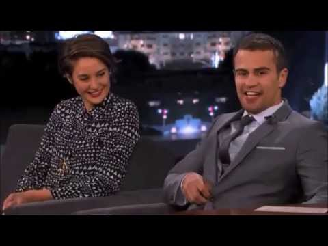 Divergent Shailene Woodley and Theo James Interview Atlanta from YouTube · Duration:  12 minutes 49 seconds