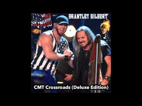 Lynyrd Skynyrd & Brantley Gilbert - Bottoms Up (CMT Crossroads HD Audio)