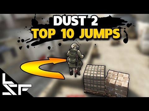TOP 10 JUMPS ON DUST 2 - CS:GO Tips and Tricks
