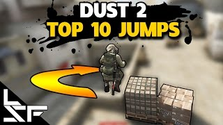 TOP 10 JUMPS ON DUST 2 - CS:GO Tips and Tricks