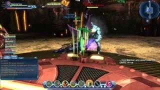 DCUO - Inner Construct 4man Batman fight