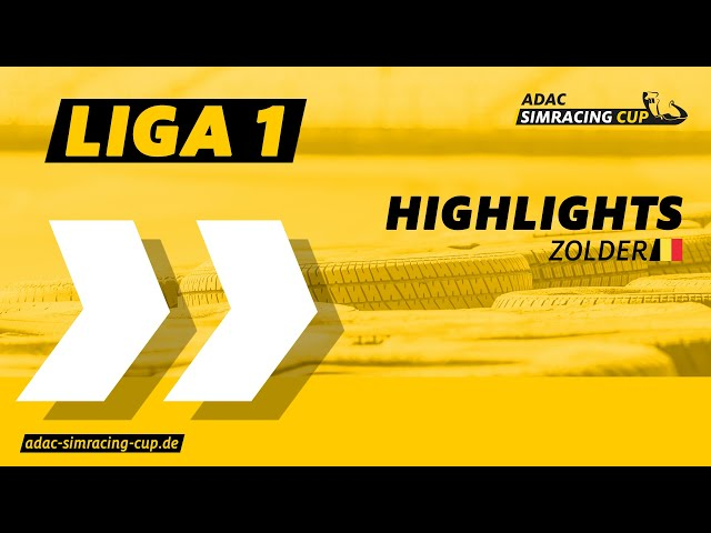 ADAC SimRacing Cup Liga 1 - Highlights Rennen 7 & 8 in Zolder