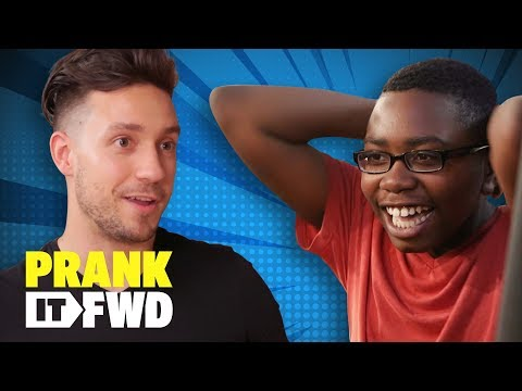Deserving Fan Becomes Sudden Superhero - Prank It FWD
