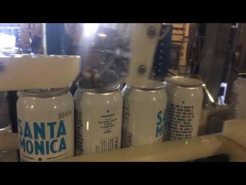 Beer Monks Mobile Canning at Santa Monica Brew Works