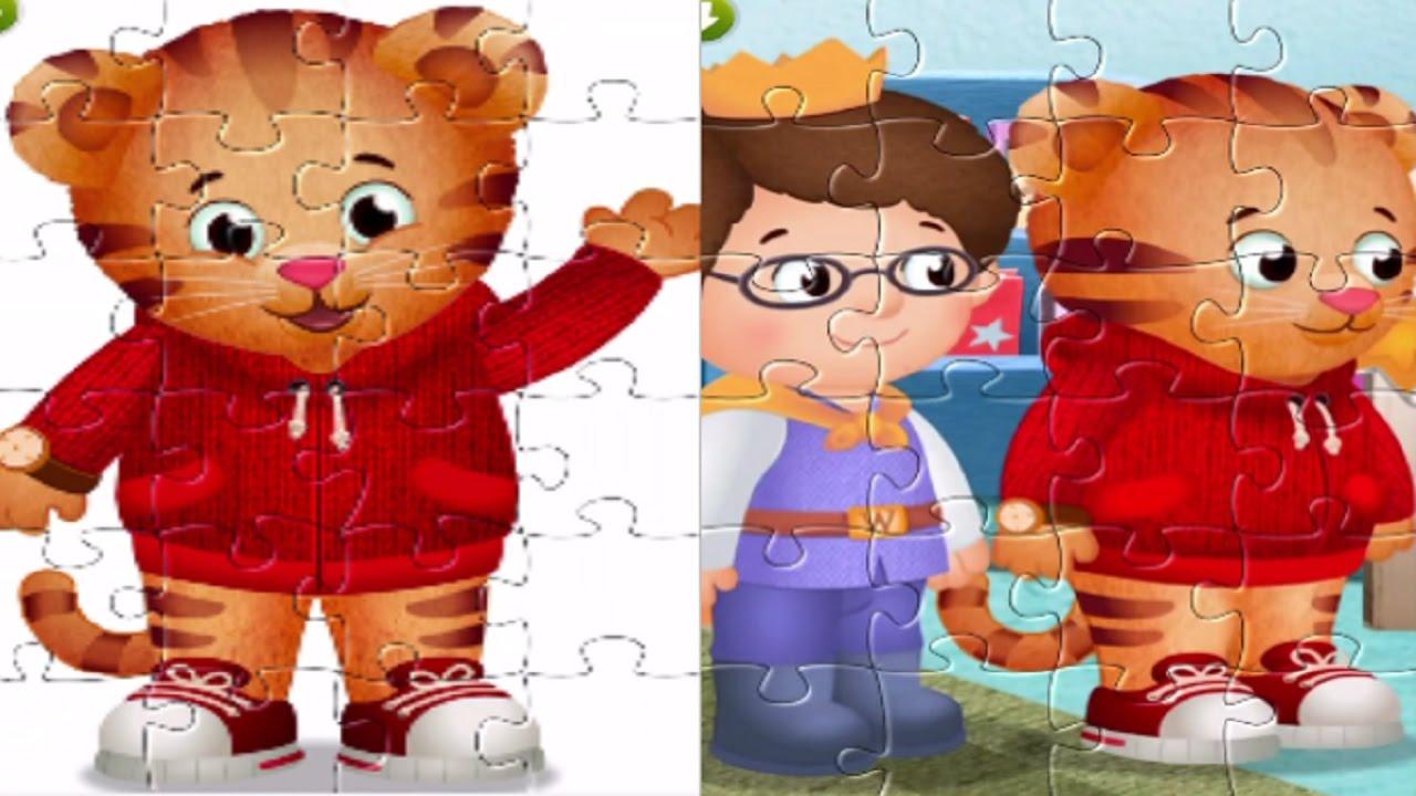 Daniel el Tigre - Puzzles de Daniel Tigre - YouTube