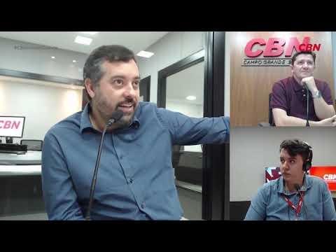 Entrevista CBN Campo Grande: Juliano Berton