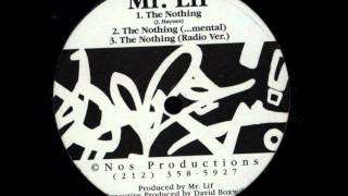 Mr. Lif - The Nothing