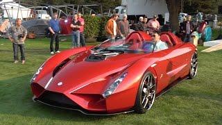 """""""فيديو"""" شاهد مصمم فيراري انزو يكشف عن سيارته الجديدة باسم كو57 Kode57"""
