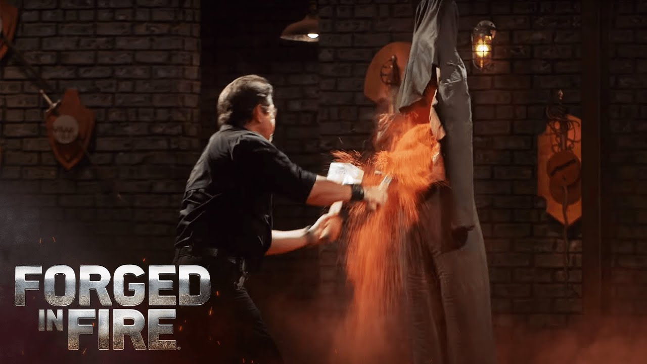 Download Russian Spetsnaz BASHES, BURIES, AND BURNS the Final Round   Forged in Fire (Season 8)