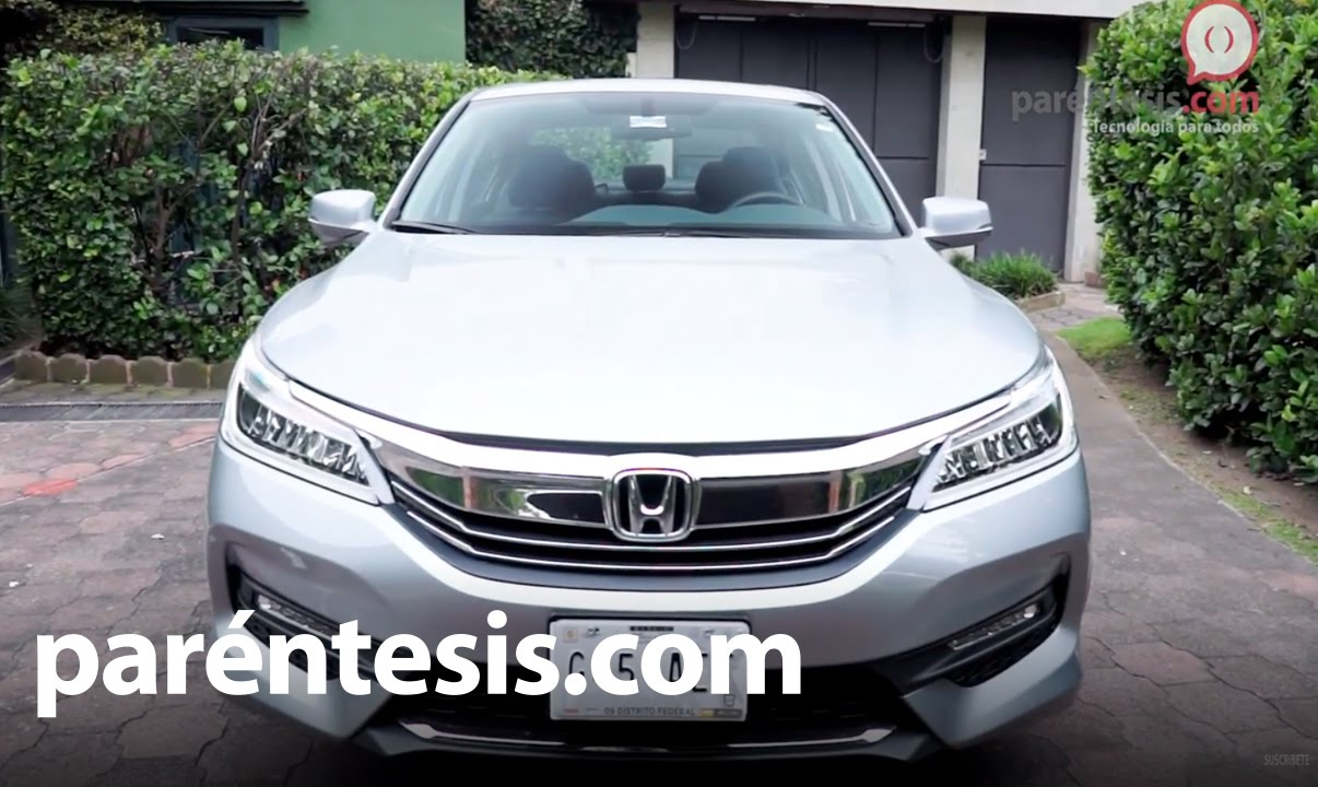 honda accord 2016 exl v6 navi prueba de manejo en espa ol youtube. Black Bedroom Furniture Sets. Home Design Ideas