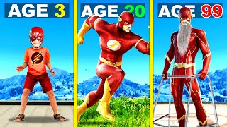 Surviving 99 YEARS As THE FLASH In GTA 5 ...