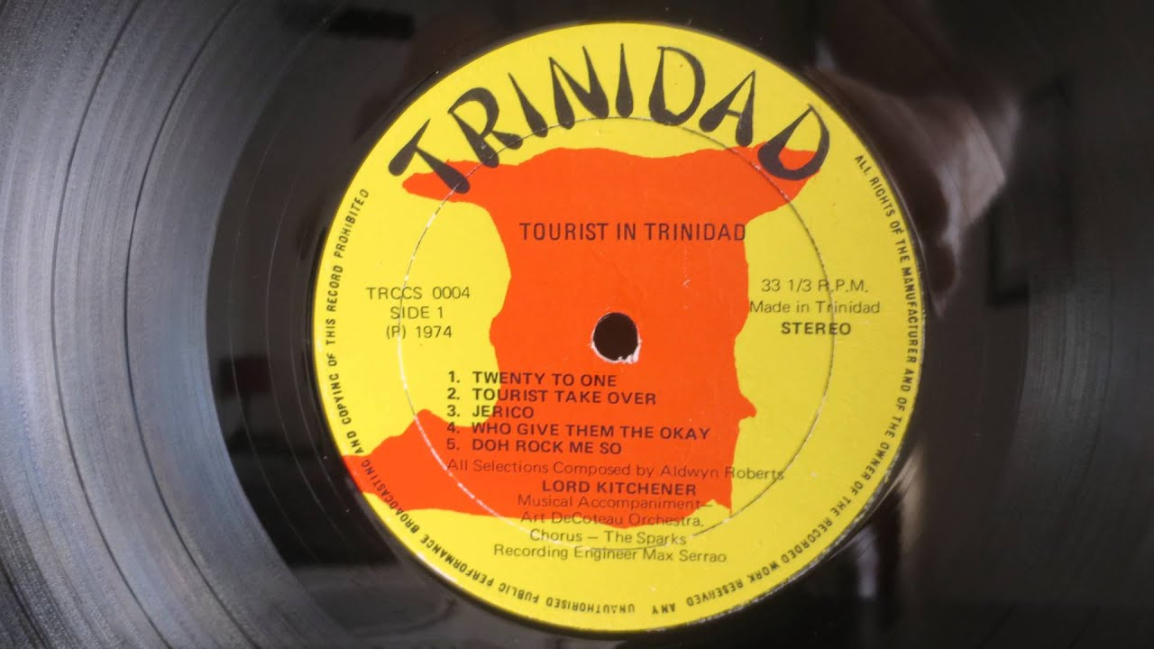 Lord Kitchener ‎– Tourist In Trinidad With Kitch (1974) - Calypso - Vinyl  Album