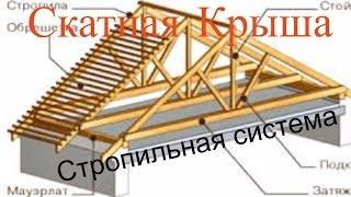 видео Что такое скатная крыша