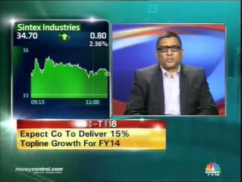 Expect 15% topline growth for FY14: Sintex