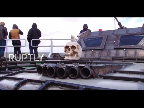 Belarus: 'Mad Max'-inspired survival car race takes place in Minsk