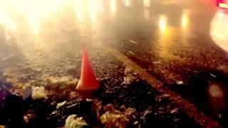 Ужасный ДТП Киев Позняки 1 Киа и 3 рефрижератор 09.11.16 , 20.00
