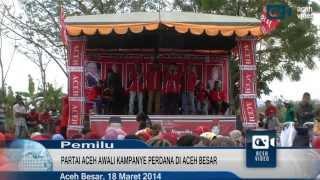 Partai Aceh Awali Kampanye di Aceh Besar