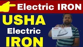 USHA Electric EI-1602 1000- Watt Dry Iron (White) Unboxing & Review in hindi | Technical Alokji