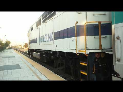 Metrolink arriving/departing Fontana