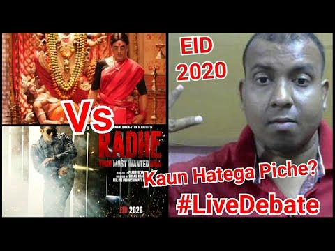 Salman Khan's Radhe Vs Akshay Kumar's Laxmmi Bomb Clash On EID 2020 Is Official #LiveDebate Mp3