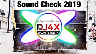BAAHUBALI SOUND CHECK 2019 || HARD VIBRATION DJ REMIX SONG || DJ MUKUL #DJ4X.in