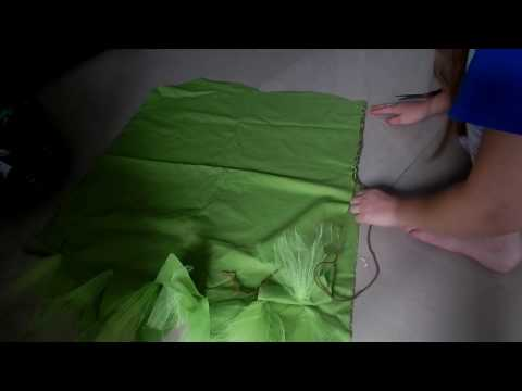 Diy Tinker bell costume no sew!