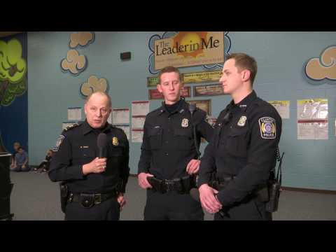 Behind The Badge - Police Officers School Visit and Bus Safety