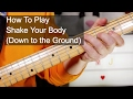 'Shake Your Body (Down to the Ground)' The Jacksons Guitar & Bass Lesson