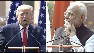 President Trump IMPORTANT Press Conference in India with Prime Minister Modi- GST