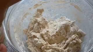 Бездрджжевой хлеб в виде коржа  Полезный хлеб в духовке