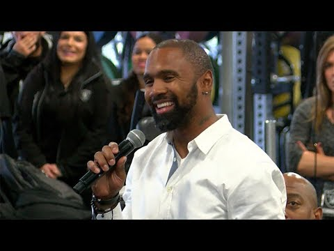Charles Woodson Asks Coach Gruden About Contract