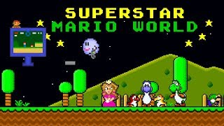 Superstar Mario World | Impressive Super Mario World ROM Hack (スーパーマリオワールド)
