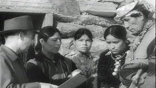 HD Historic Archival Stock Footage WWII - American Indians Aid War Effort 1943