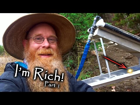 High Banking New Rich Gold Deposit At Trout Creek (*Part 1*)