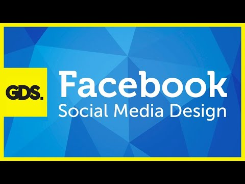 Facebook social media design in Photoshop