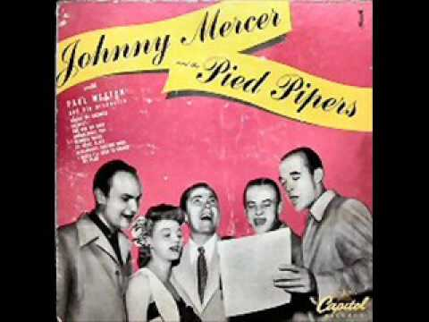johnny mercer my sugar is so refined