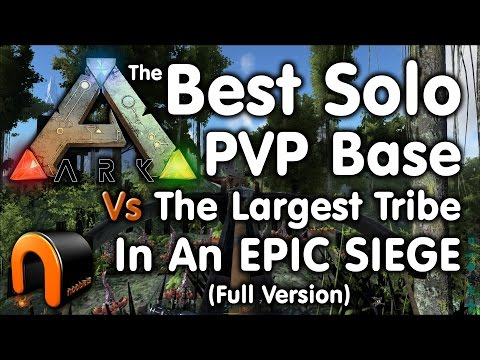 Nooblets Base Siege – The Best Solo Player Base Vs The Largest Tribe (Full Version)