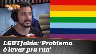 Fefito sobre LGBTfobia: